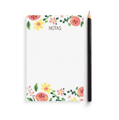 Charuca's Note Pad is full of flowery amazingness.
