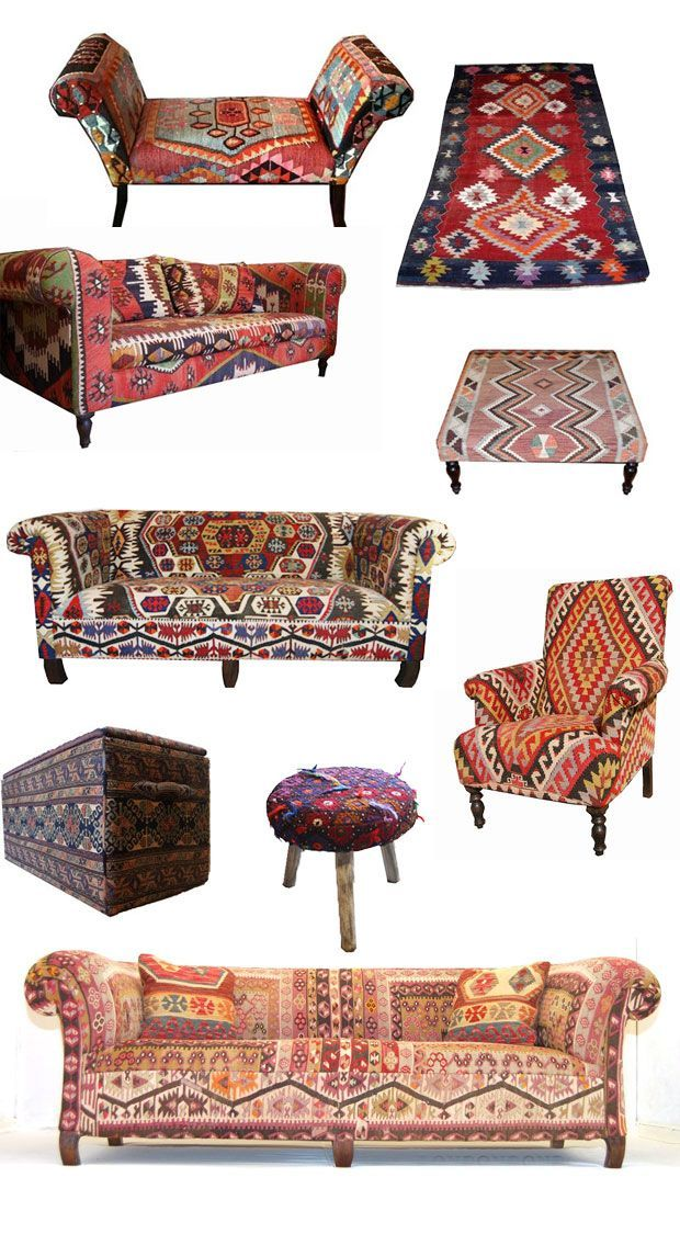 Kilim Furniture from London House Rugs