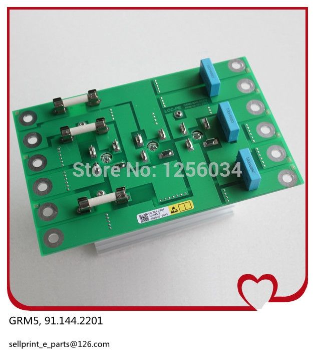 (270.00$)  Buy here - http://ai3di.worlditems.win/all/product.php?id=32469473203 - 1 piece high quality GRM 5 board 91.144.2201,heidelberg GRM5 board, 5V provide power for NTK board