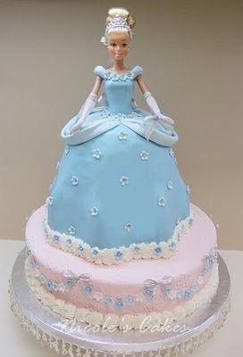 , Cakes & Creations!: Princess Cinderella Birthday Cake  Crazy cake ...