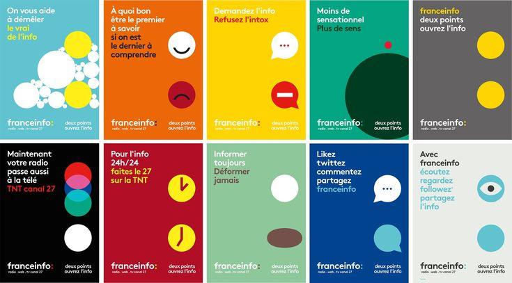 France Info : des affiches qui visent les jeunes…