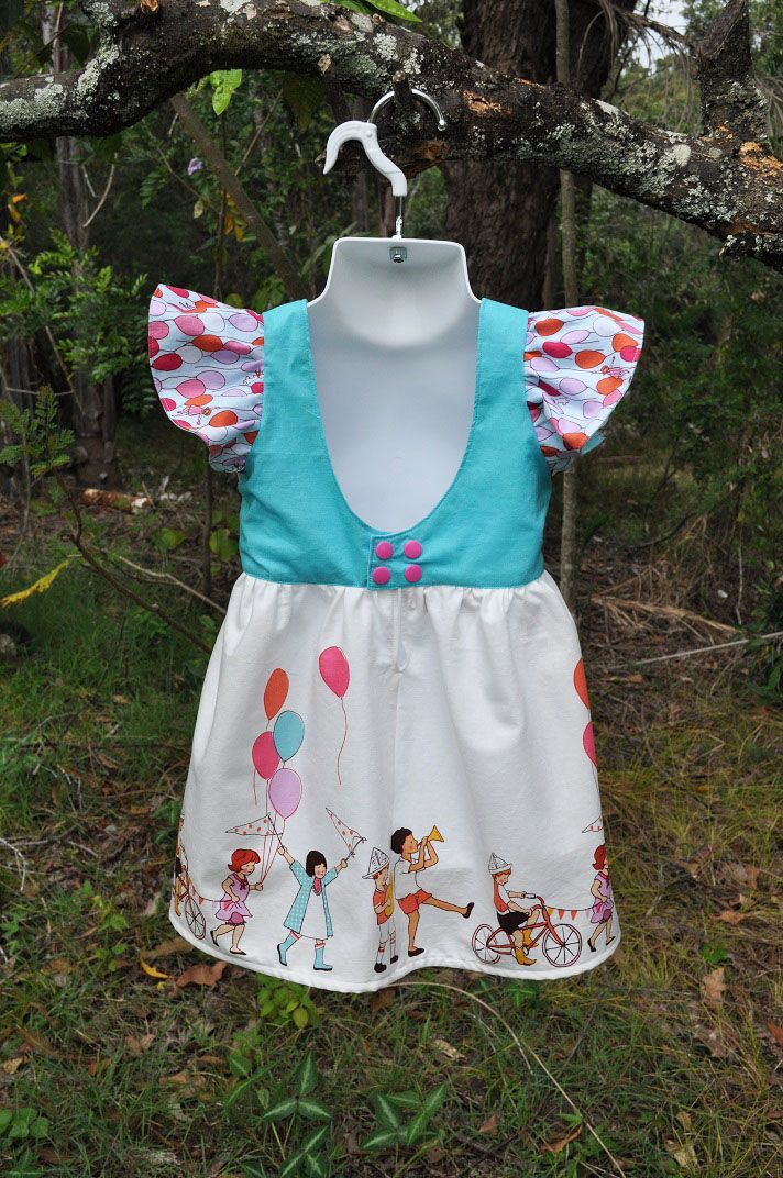 Modified Five and Ten Bodice - Back