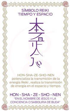 Símbolos Reiki Hon-Sha-Ze-Sho-Nen