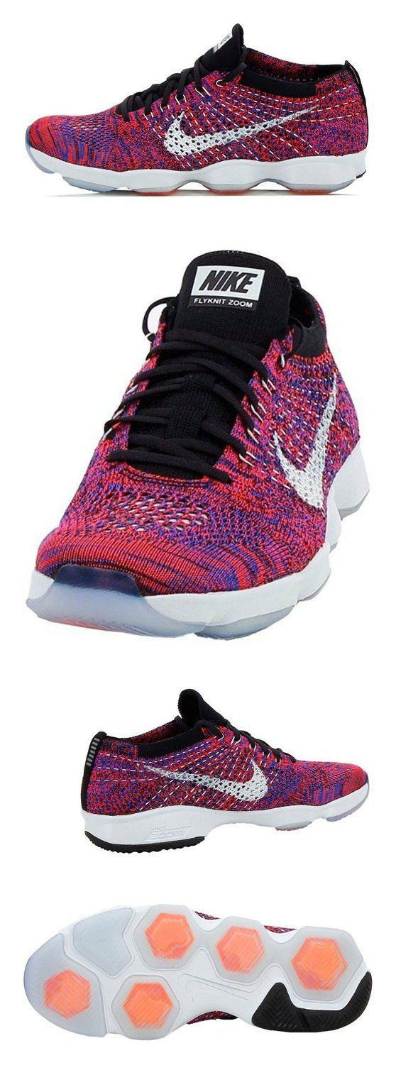 $99.99 - Nike Flyknit Air Zoom Agility Sz 6.5 Womens Cross Training Shoes Red New In Box #shoes #nike #2016
