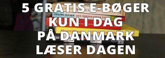 Kun i dag 23. april 2015: Download gratis lyd- og e-bøger. Danmark læser.