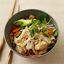 http://www.weightwatchers.com/food/rcp/RecipePage.aspx?recipeid=142911    Chicken Pad Thai