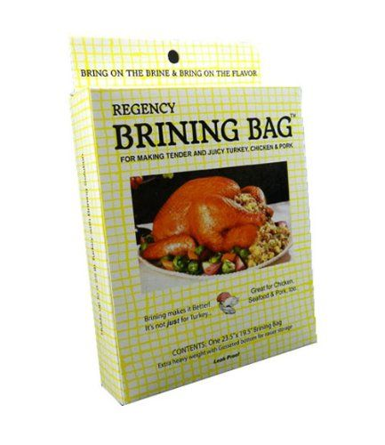 Use Regency Brining Bags to brine and smoke your Thanksgiving turkey
