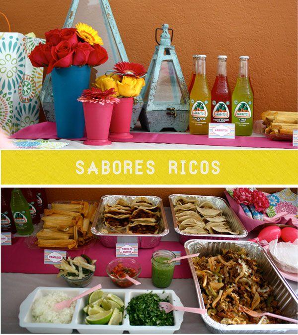 Jarritos And Tacos For A Latina Inspired Baby Shower. Our  DosBorreguitas.com Guest