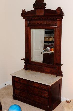 Eastlake Dresser And Bed