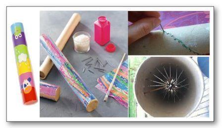 Fabriquer un bâton de pluie