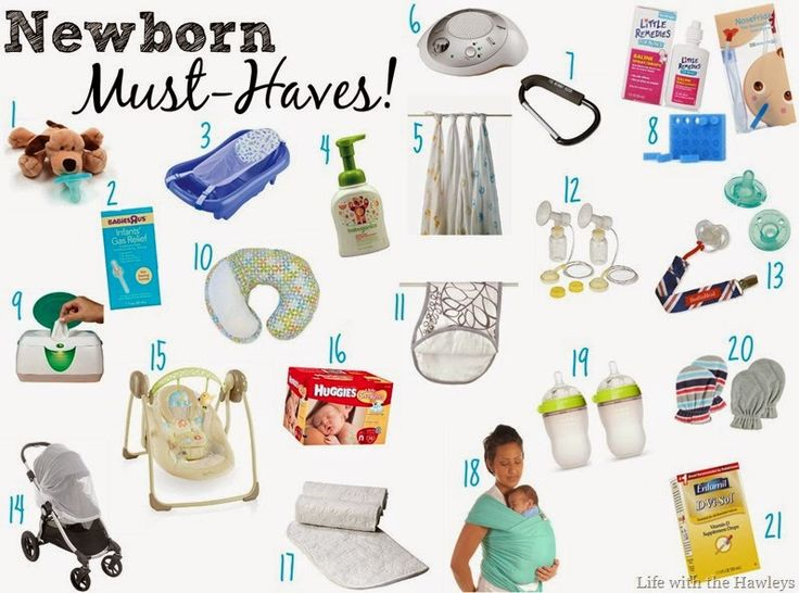 Newborn Must Haves Baby Gear Pinterest