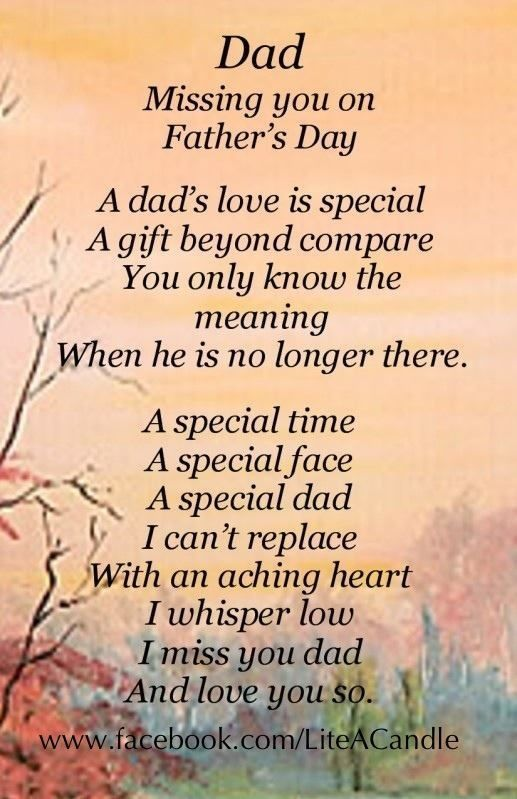 Dad I Am Missing You On Father's Day