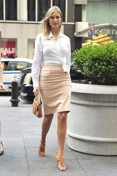 Ivanka Trump - Ivanka Trump at the FOX Studios in Central Manhattan