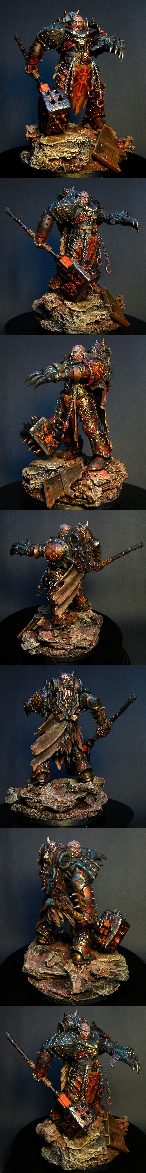 CoolMiniOrNot - Chaos Lord by Roman 2.0