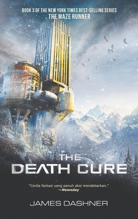 "The DEATH cure...I read this, and I was like: ""Dude, where's the cure for Newt's death?!"""