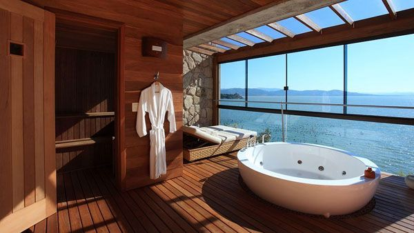 Top 50 des salles de bain de r ve dans lesquelles on aurait envie d habiter carr ment badre for Salle de bain de reve