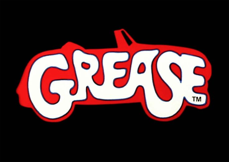 Grease Logo | web Grease logo for Community playhouse