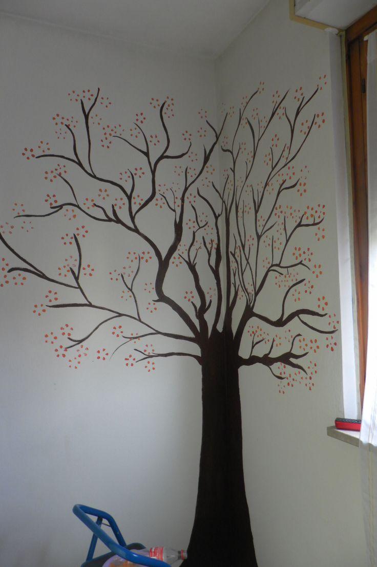 Oltre 25 fantastiche idee su dipinti di albero su - Albero su parete ...