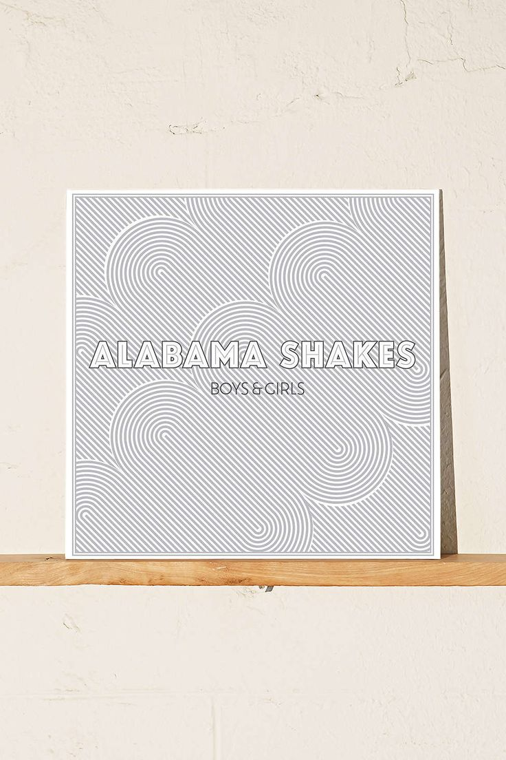 Alabama Shakes - Boys & Girls LP $22.98 1. Hold On 2. I Found You 3. Hang Loose 4. Rise to the Sun 5. You Ain't Alone 6. Goin' to the Party 7. Heartbreaker 8. Boys & Girls 9. Be Mine 10. I Ain't the Same 11. On Your Way