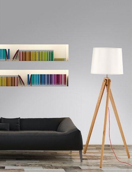 Φωτιστικό #δαπέδου από φυσικό ξύλο. Κατάλληλο για το σαλόνι ή την κρεβατοκάμαρά σας. Επιλέξτε λαμπτήρες με φυσικό λευκό φως και απολαύστε το βιβλίο ή τη #μουσική σας, ή λαμπτήρες με θερμό λευκό φωτισμό για απόλυτη χαλάρωση και μια πιο ρομαντική ατμόσφαιρα. Για μεγαλύτερη οικονομία προτείνουμε λαμπτήρες #LED: http://kourtakis-lighting.gr/35-led-lampes-E27