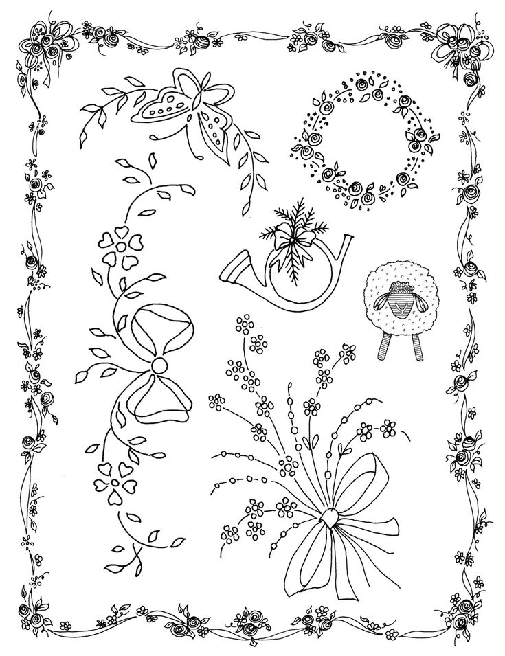 CLASSIC EMBROIDERY DESIGNS SET TWO is a collection of over 90 vintage motifs and designs for hand embroidery. Suitable for embellishing heirloom garments and many other items with surface embroidery or shadow work. Available at  http://craftsy.me/1CoZ5j4