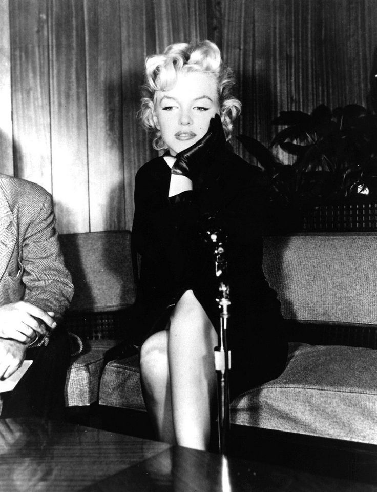 February 25, 1956 at a press conference in a waiting room of the American Airlines terminal in Los Angeles after a long exile of one year period in New York
