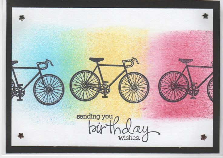 95 best birthday cycling images – Bicycle Birthday Cards