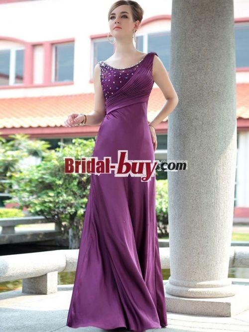 Cheap Evening Dress Dresses Purple For WeddingsLong