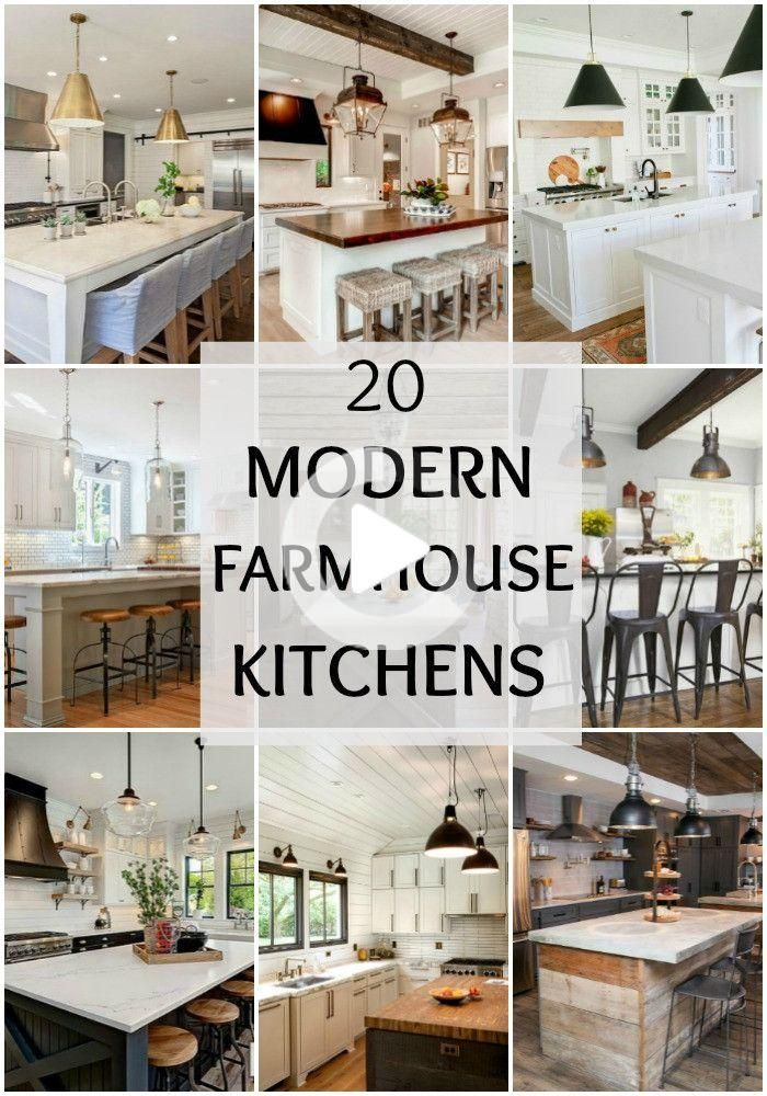 Inspirational Keuken Te Verbouwen Ideeen Boerderijstijl Fixer Upper Modern Farmhouse Keukens Voor Cuisines De Ferme Modernes Ferme Moderne Cuisine Moderne