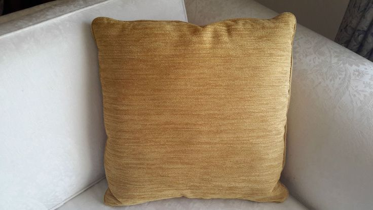 Scatter Cushion Cover- Yellow/Gold - Designer Decorative Throw-Aussie Made