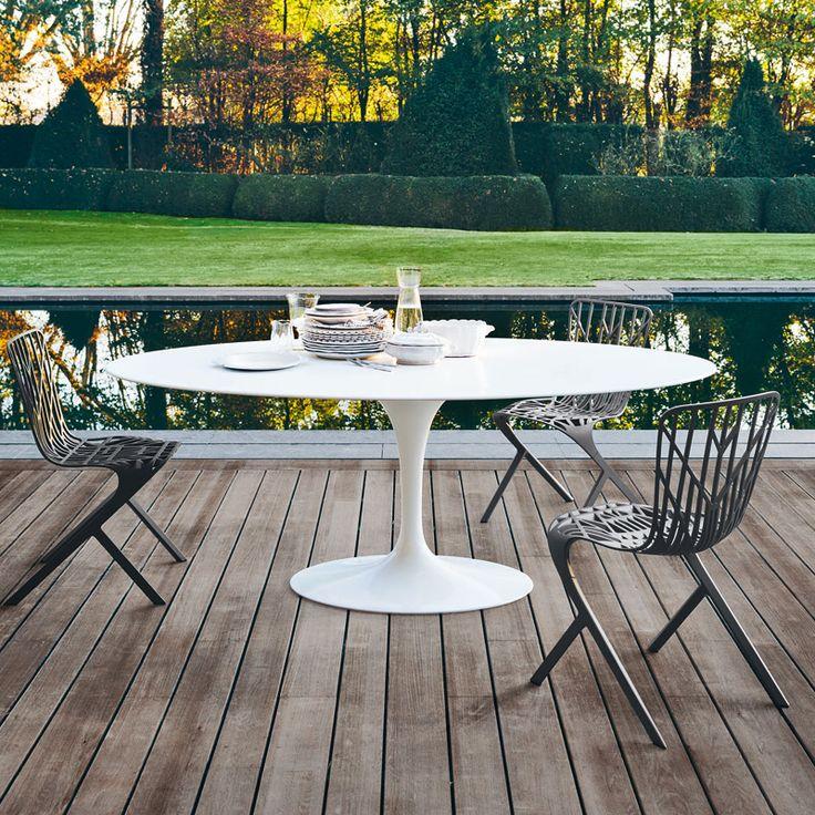 Saarinen High Table For Outdoor | Knoll