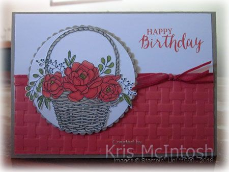 From the 16th of February till the end of Sale-A-Bration on the 31st March, Stampin' Up! have added additional free product that you can earn with a qualifying sale to the already fantastic s…