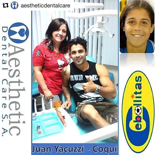 #Repost @aestheticdentalcare (@get_repost) ・・・ ⚽⚽ COQUI DE CEBOLLITAS⚽⚽ Nos ha visitado en Aesthetic Dental Care @JuanYacuzzi actor de Cebollitas y @CamiLunaF Gracias por su Confianza. Se realizaron su Control Dental Preventivo. Las Mejores Sonrisas en @AestheticDentalCare  Reserva tu Consulta de Diagnóstico SIN COSTO Llámanos 📍Teléfono 2681129. 📍Celular 0999225043 whatsapp.  Síguenos en nuestras redes Sociales 📍Facebook: Aesthetic Dental Care 📍Instagram: @AestheticDentalCare  En…