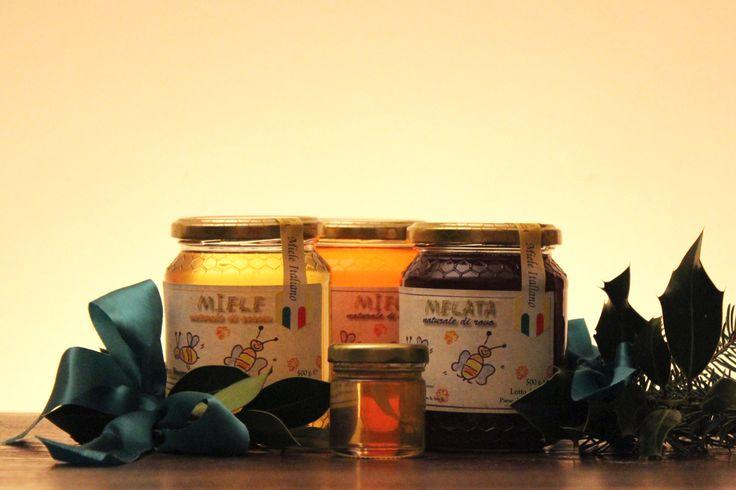 Miele di Gavi: fiori di acacia e melata di fiori di rovo: un'idea regalo natalizia molto... dolce ;-) #honey