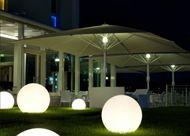 Sfera luminosa da esterno risparmio energetico 3 varianti - La Boutique della Luce snc