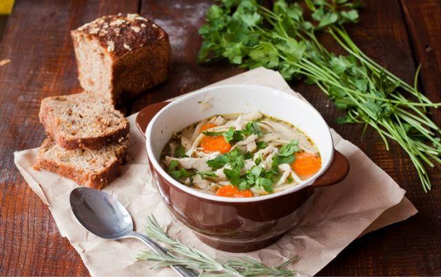 mój zbiór przepisów kulinarnych-  wyszukane w sieci: Zupa z kurczakiem à la flaczki