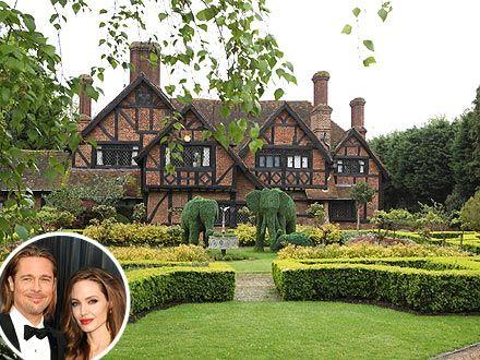 Brad Pitt & Angelina Jolie Buy $16 Million London Home
