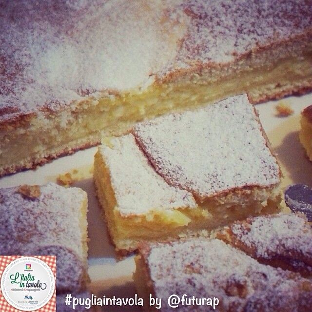Per il #dessert andiamo nel #Salento per assaggiare la torta #pasticciotto offerta da @Futura Pagano per #italiaintavola #pugliaintavola #italianfood #puglia #apulia