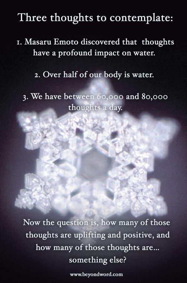 Masaru Emoto, Water Crystal