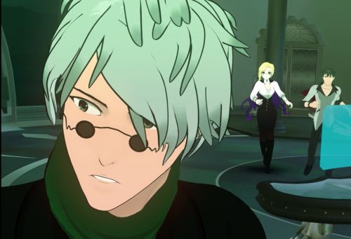 you know it's time to be afraid when ozpin isn't cool and collected