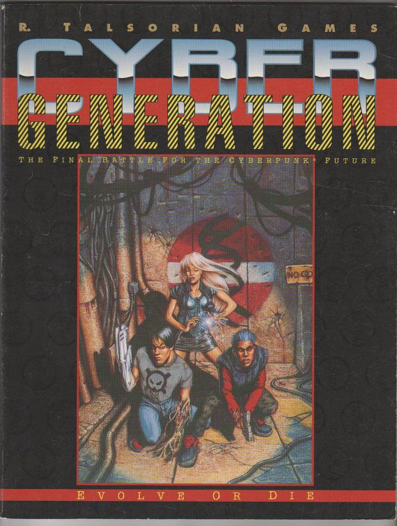 1993 Cyberpunk 2020 Cybergeneration by RubbersuitStudios on Etsy, $14.95 #cyberpunk2020 #roleplayinggames #cybergeneration