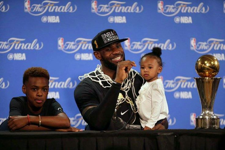 Lebron James, Son and Daughter