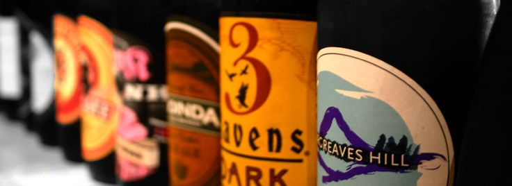 Boutique beers on tap