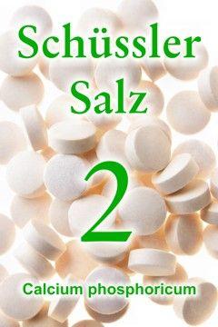 Erfahren Sie, wie wichtig das Schüssler Salz 2, Calcium phosphoricum, für den Knochenaufbau ist und wie es auch bei anderen gesundheitlichen Problemen hilft ...