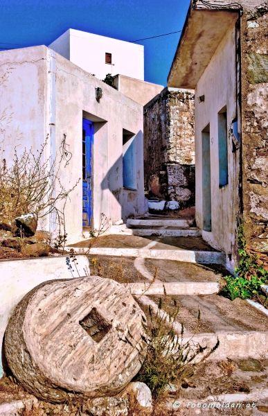 Old quarter in Chora