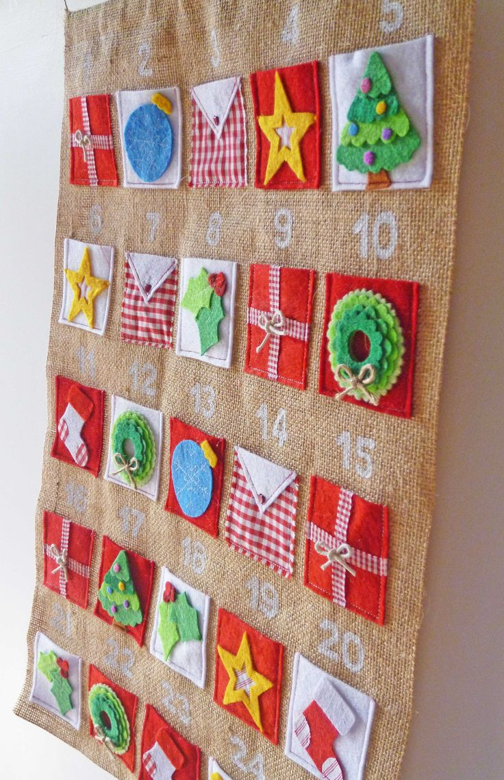 Rustic Advent Calendar to get me in the Christmas spirit.