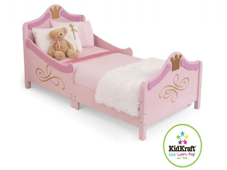 KidKraft Princess Junior Toddler Bed Make Your Feel Like True Royalty Fits Mattresses 140 Cm L X 70 W 10 H