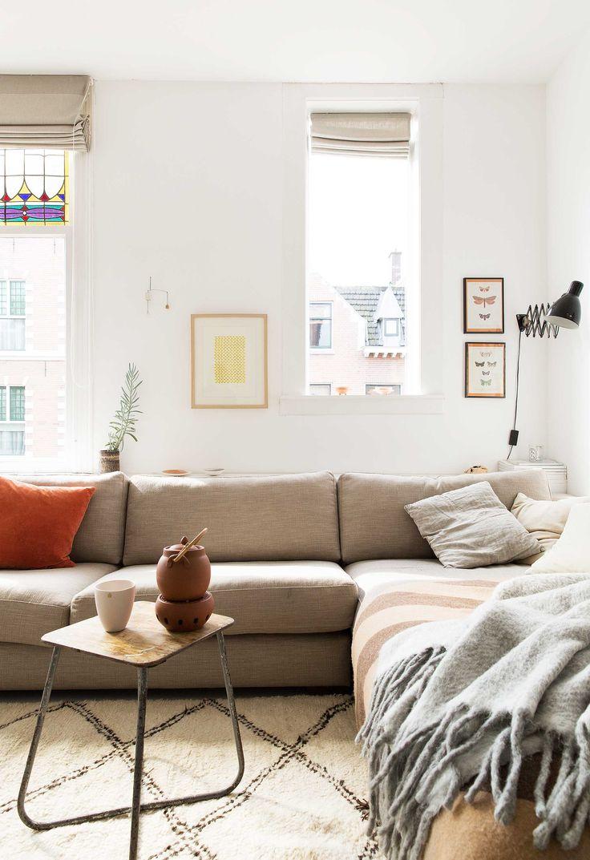 knusse bank | cozy couch | vtwonen 4-2016 | Pjotography Jansje Klazinga | Styling Emmy van Dantzig