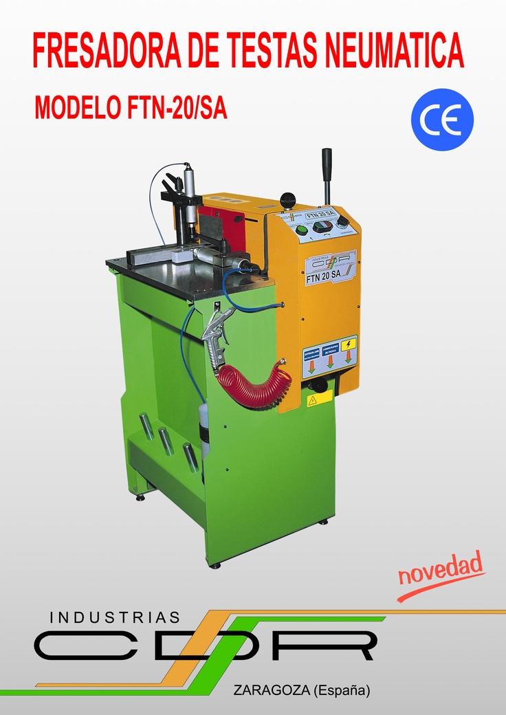 Fresadora de Testas Neumática Modelo FTN-20/SA