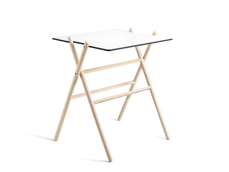 Folding table: Ideal for an informal cafe setting. An outdoor version of both folding table and folding chair is available on request. It will be made from oak wood instead of ash wood since …